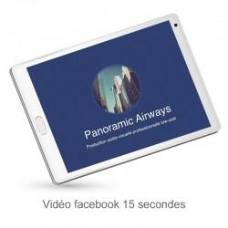 Vidéo facebook personnalisable 15 secondes