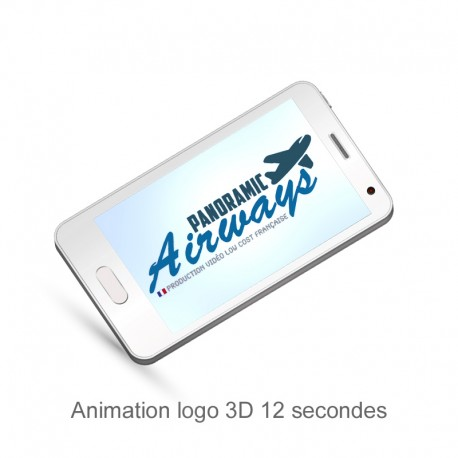 Presentation video logo 3D 12 secondes